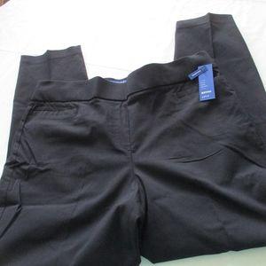 NWT - APT. 9 black pull-on pants - sz 16WS - $50.